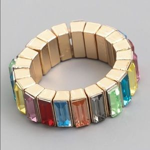Baguette Stretch Ring